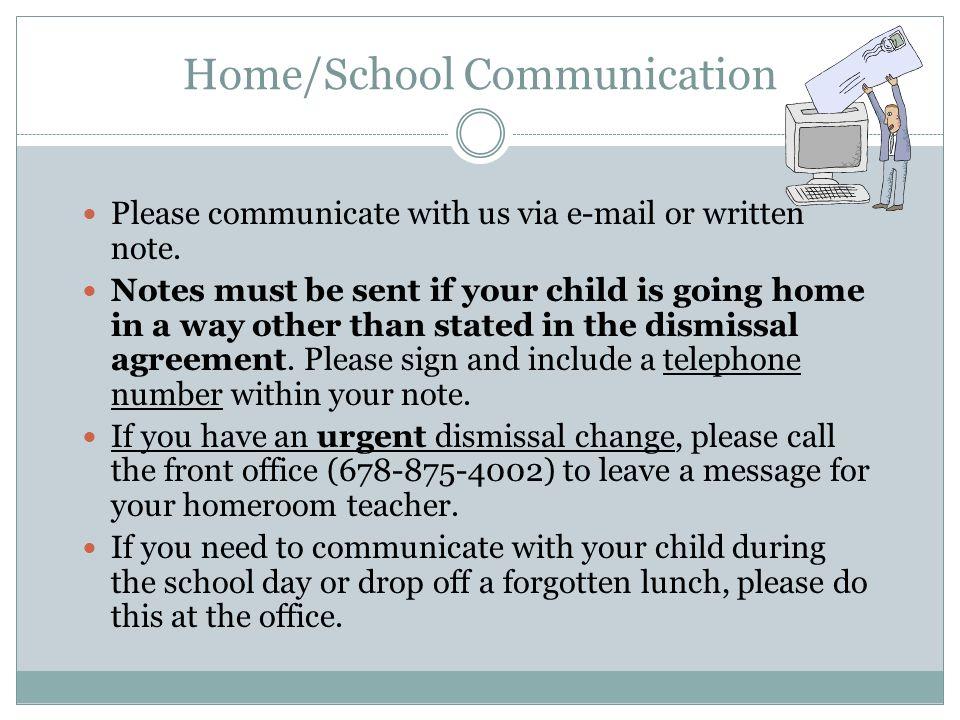 Home/School Communication