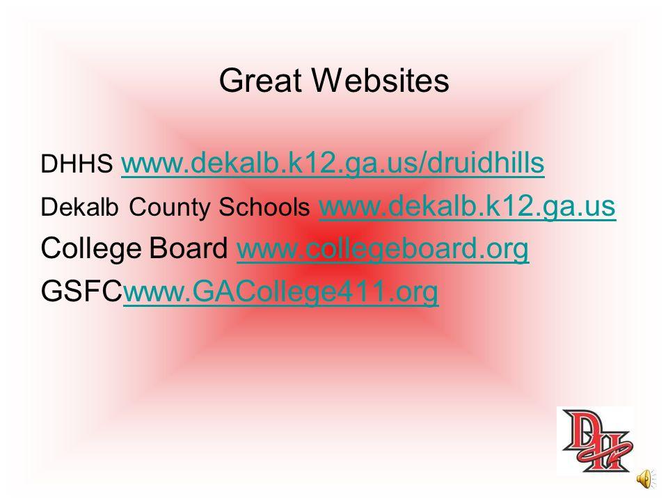 Great Websites College Board www.collegeboard.org