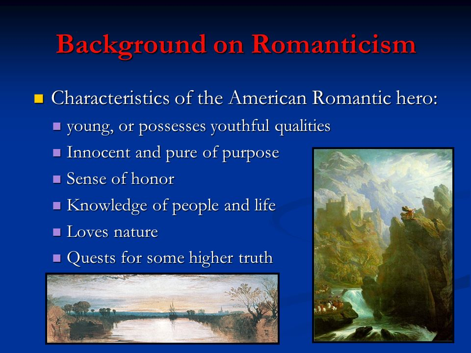 Background on Romanticism