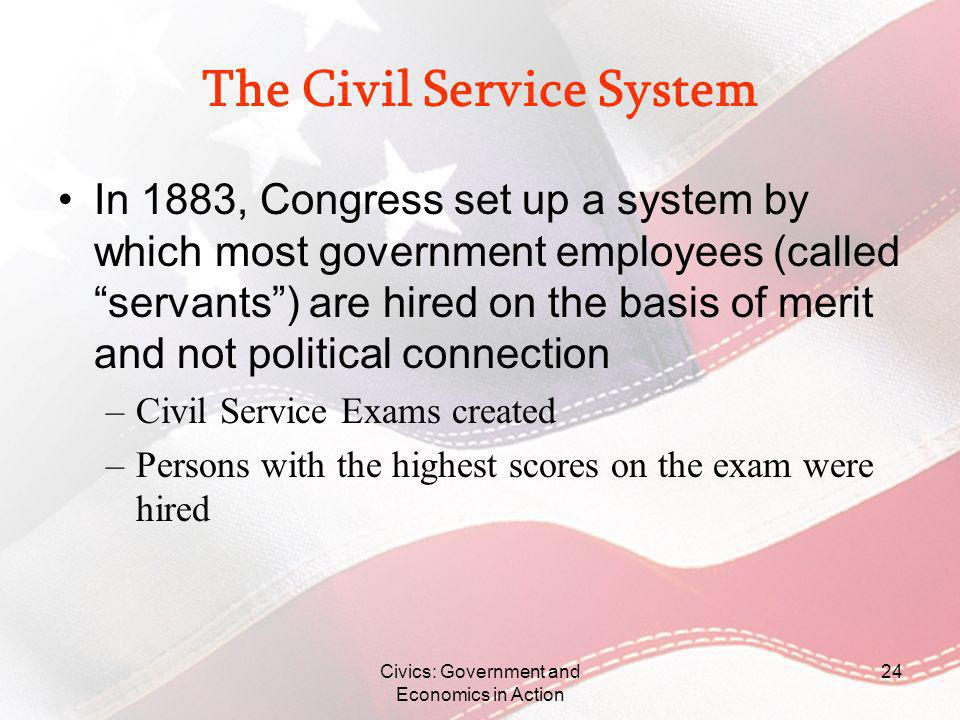 The Civil Service System