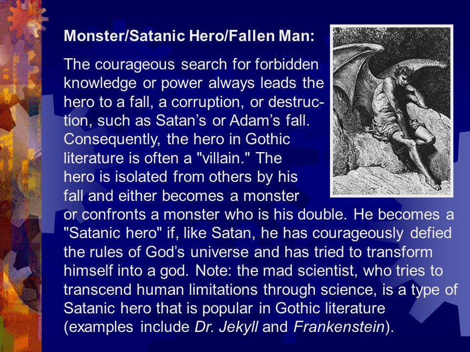 Monster/Satanic Hero/Fallen Man: