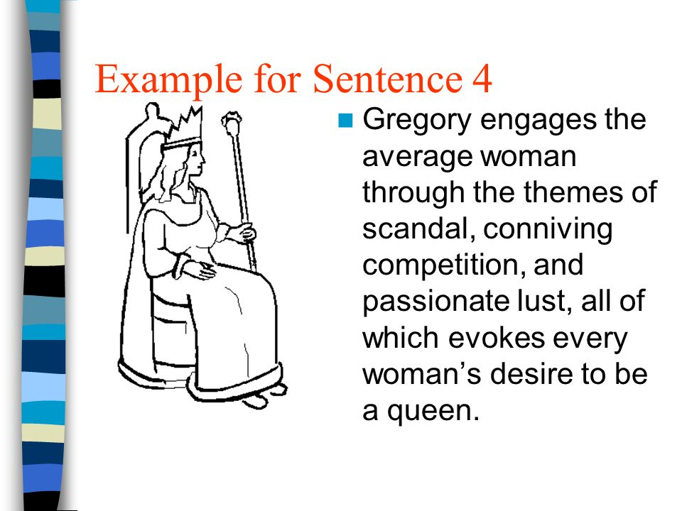 Example for Sentence 4
