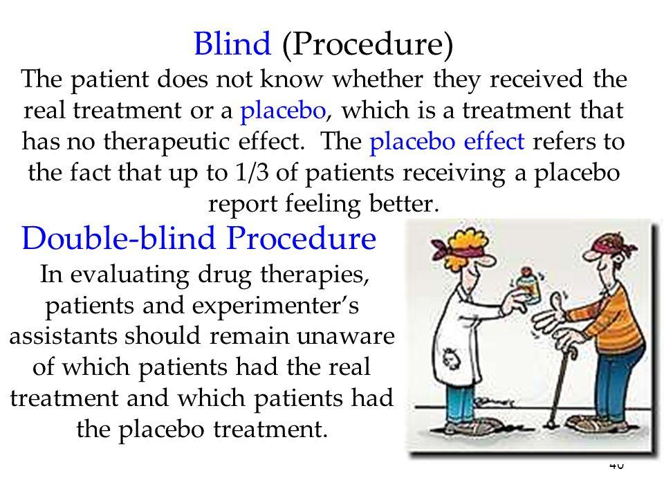 Double-blind Procedure