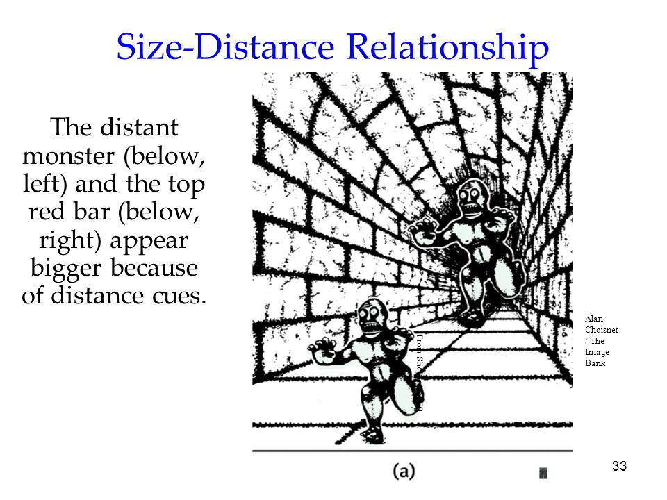 Size-Distance Relationship