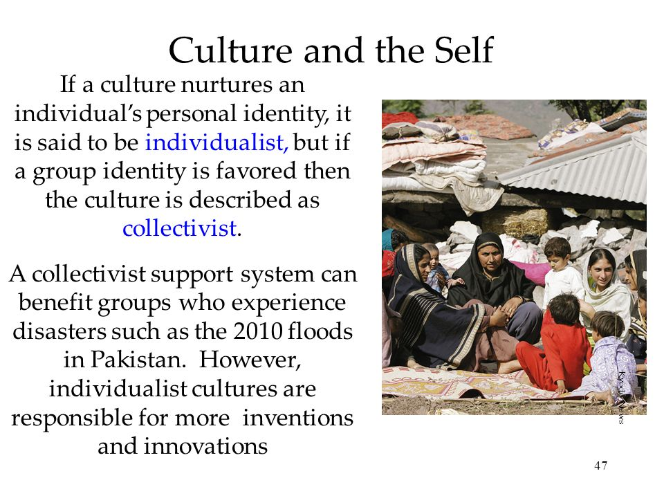 Culture and the Self