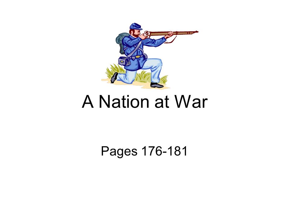 A Nation at War Pages 176-181
