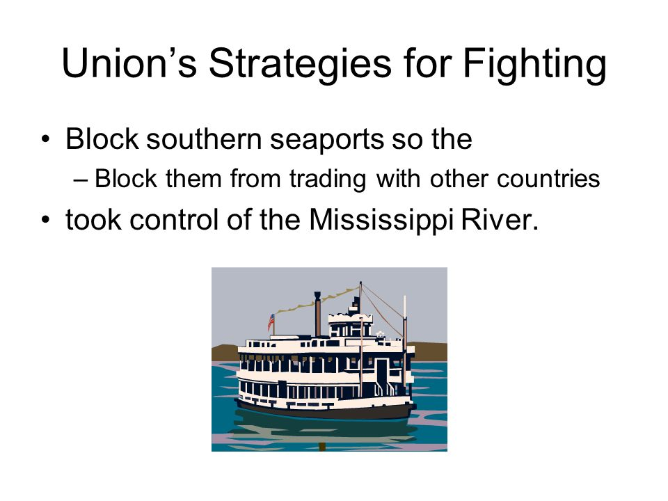 Union's Strategies for Fighting