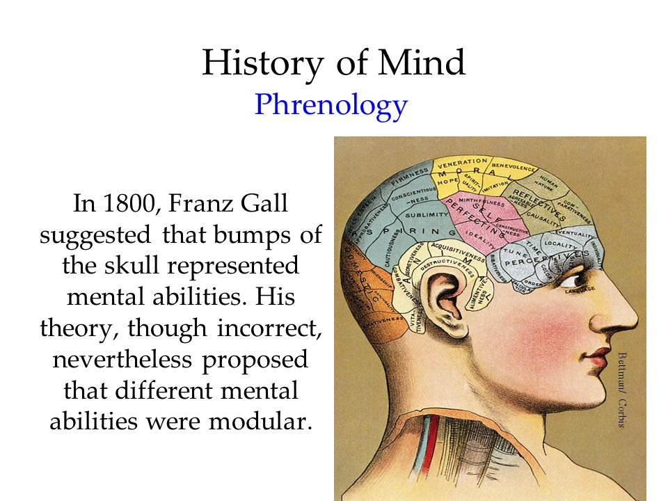 History of Mind Phrenology