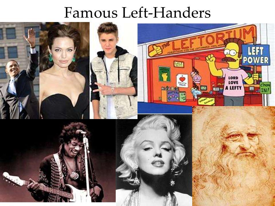Famous Left-Handers BBC