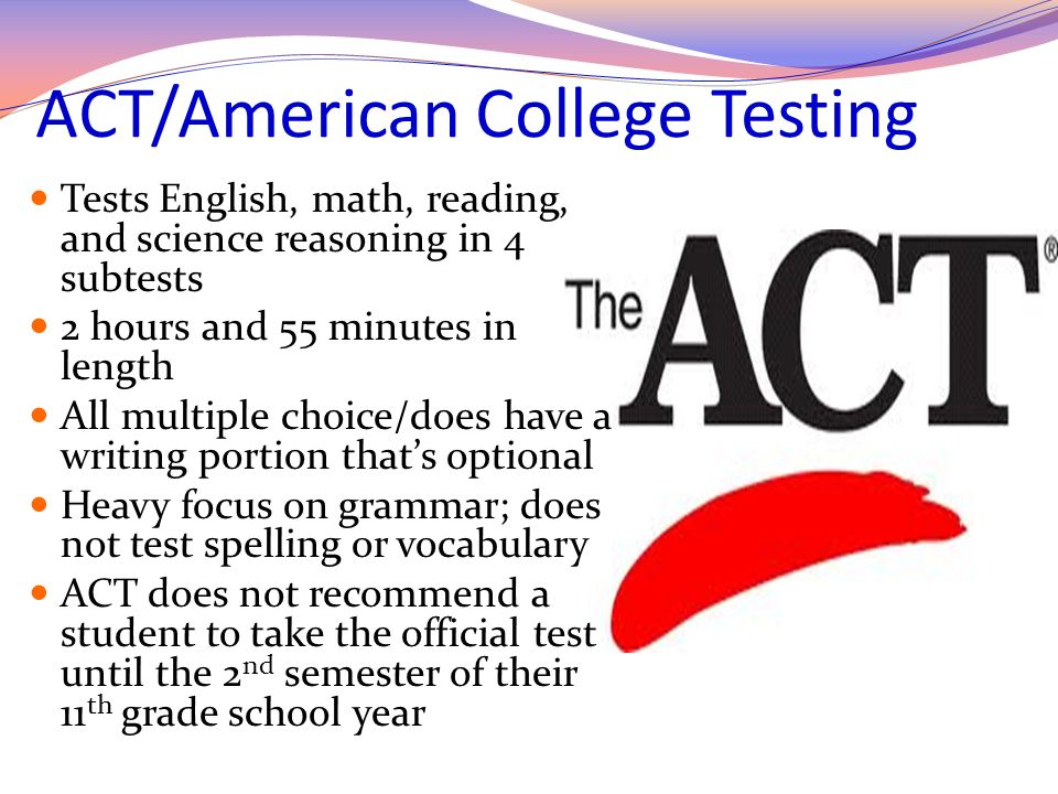 ACT/American College Testing