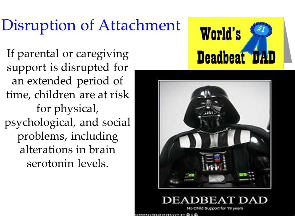 Disruption of Attachment
