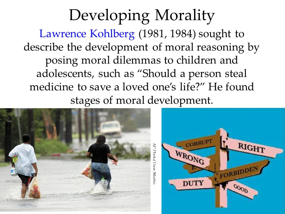 Developing Morality