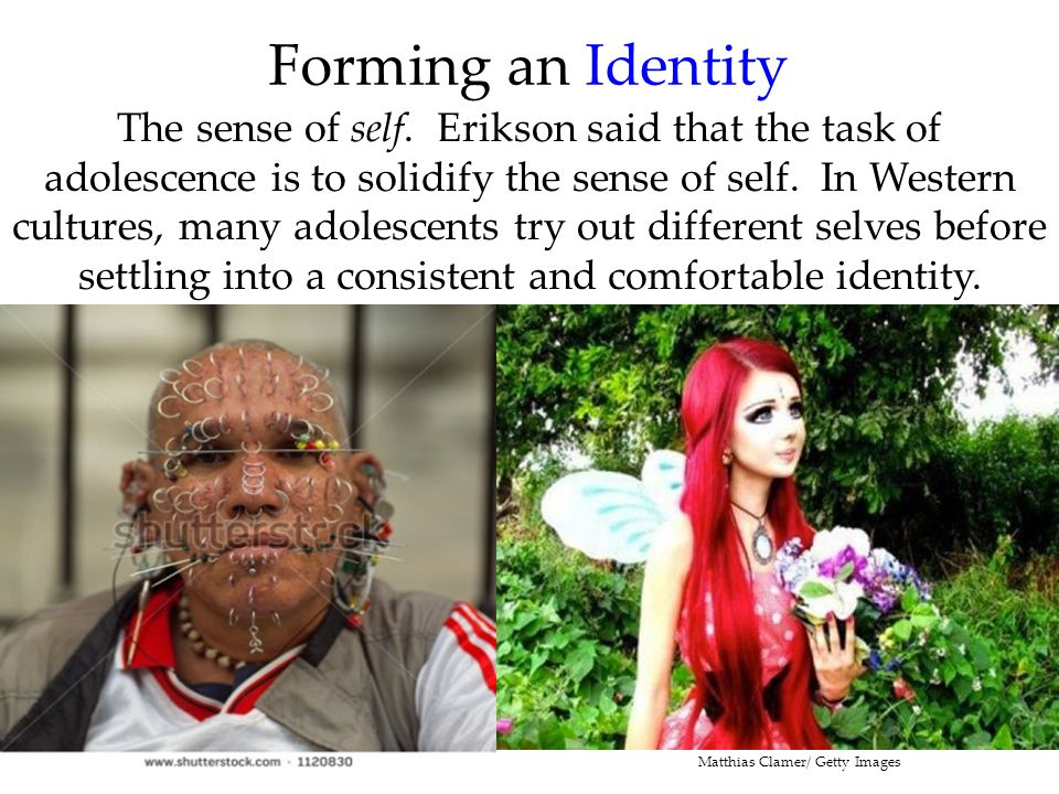 Forming an Identity