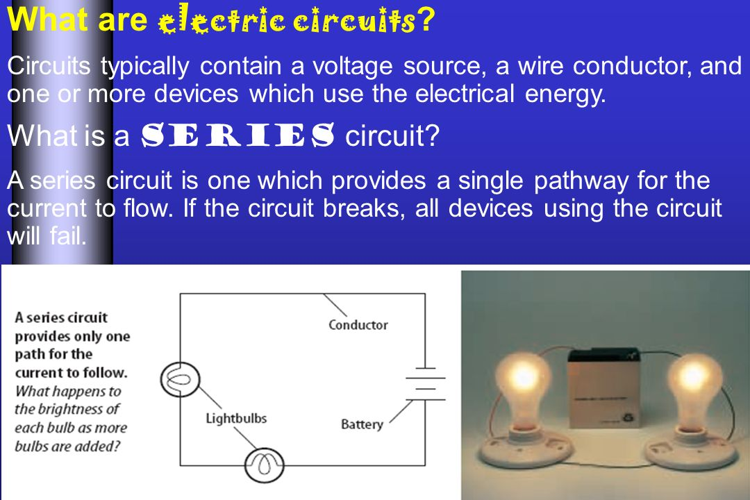 Berühmt Electric Circuits In The Us Are Typically Galerie - Der ...