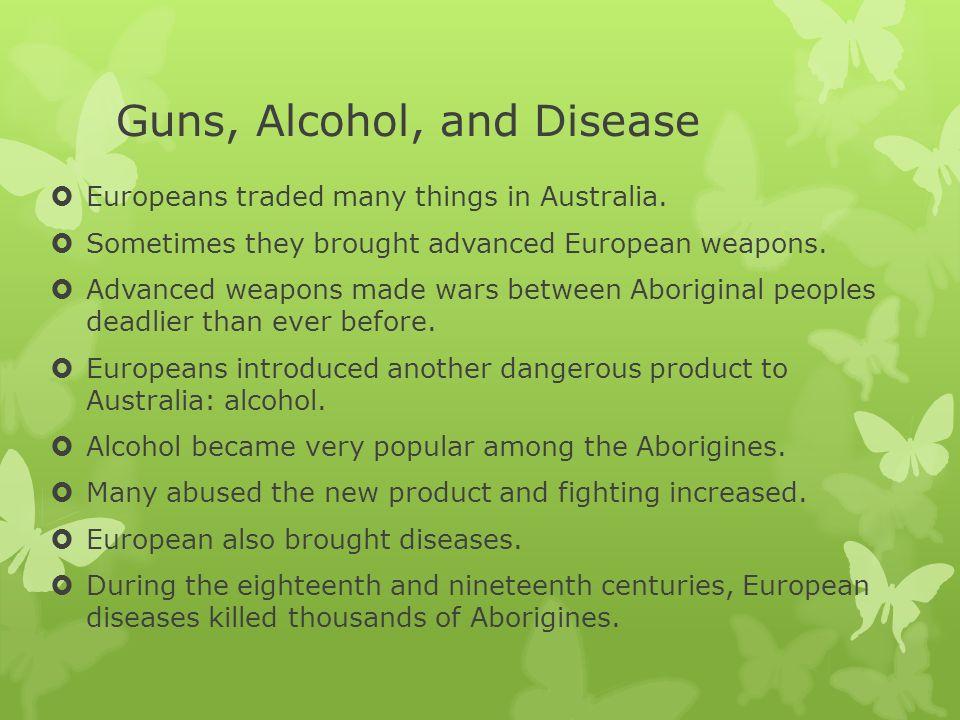 Guns, Alcohol, and Disease