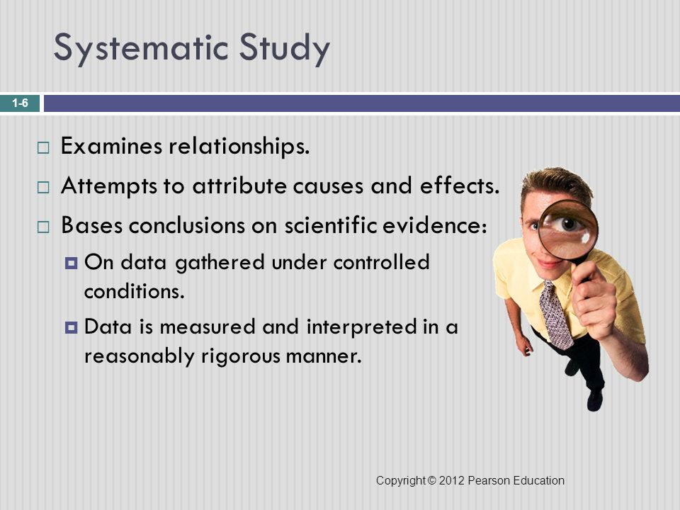 Systematic Study Examines relationships.