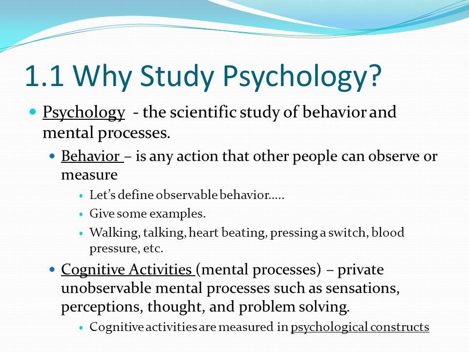 Behaviorism is primarily concerned with observable behavior as ...