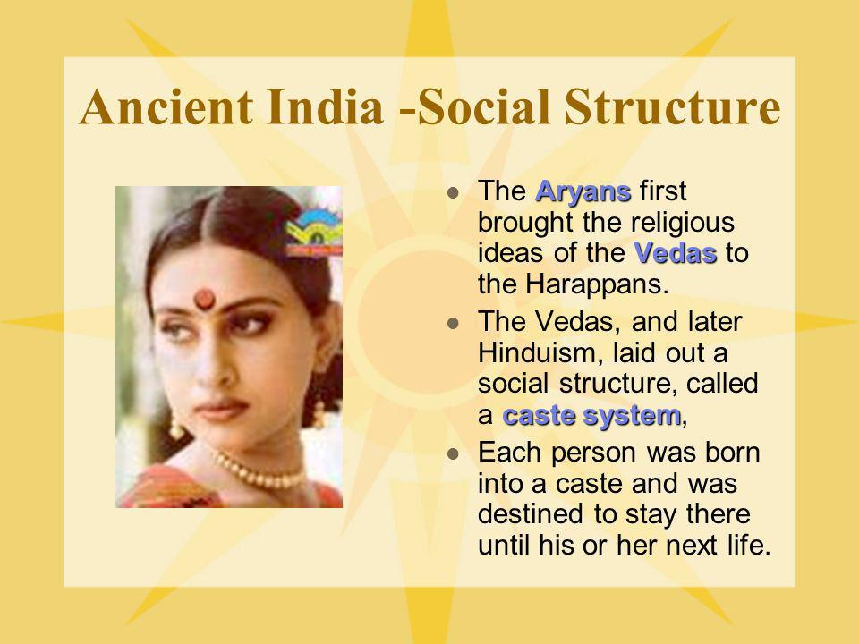 Ancient India -Social Structure