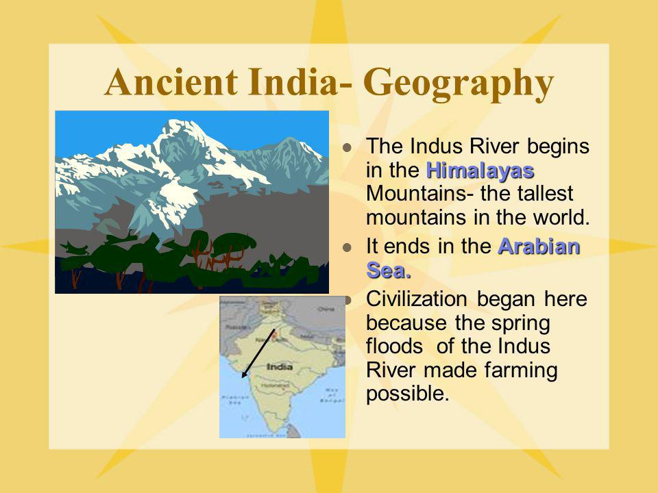 Ancient India- Geography