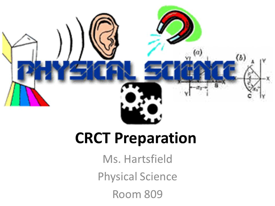 Ms. Hartsfield Physical Science Room 809
