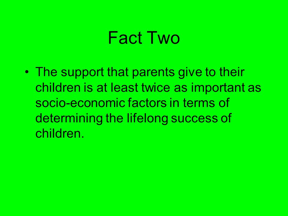 Fact Two