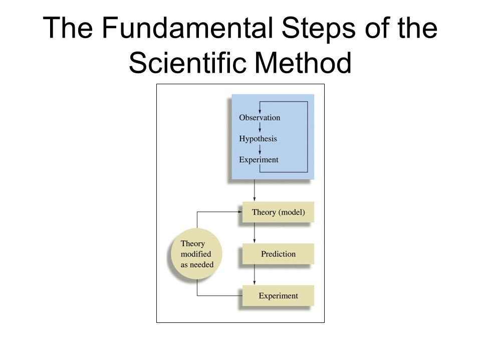 The Fundamental Steps of the Scientific Method