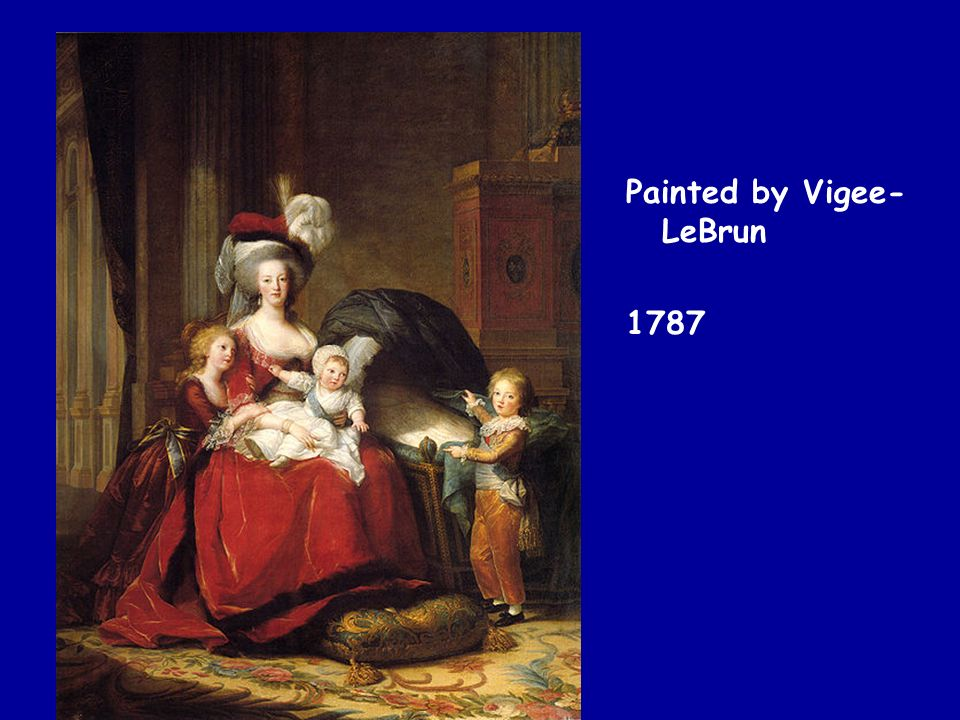 Painted by Vigee-LeBrun