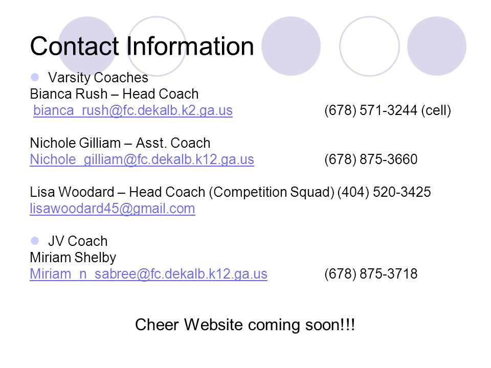 Cheer Website coming soon!!!