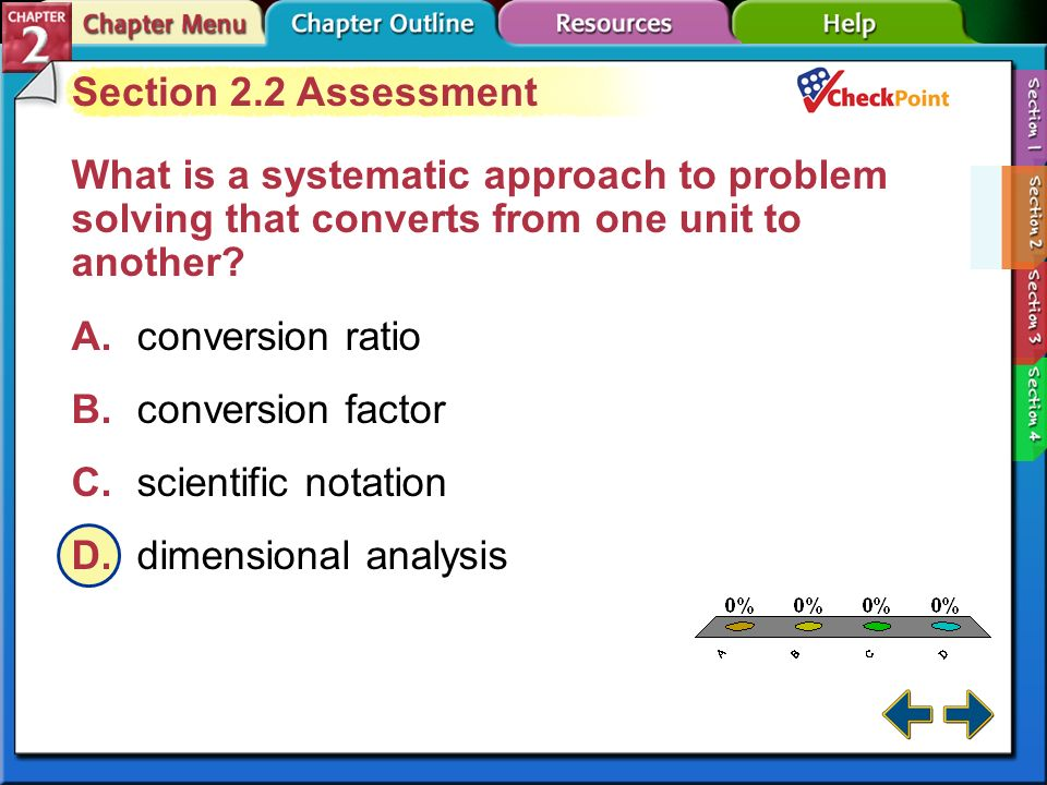 A B C D Section 2.2 Assessment