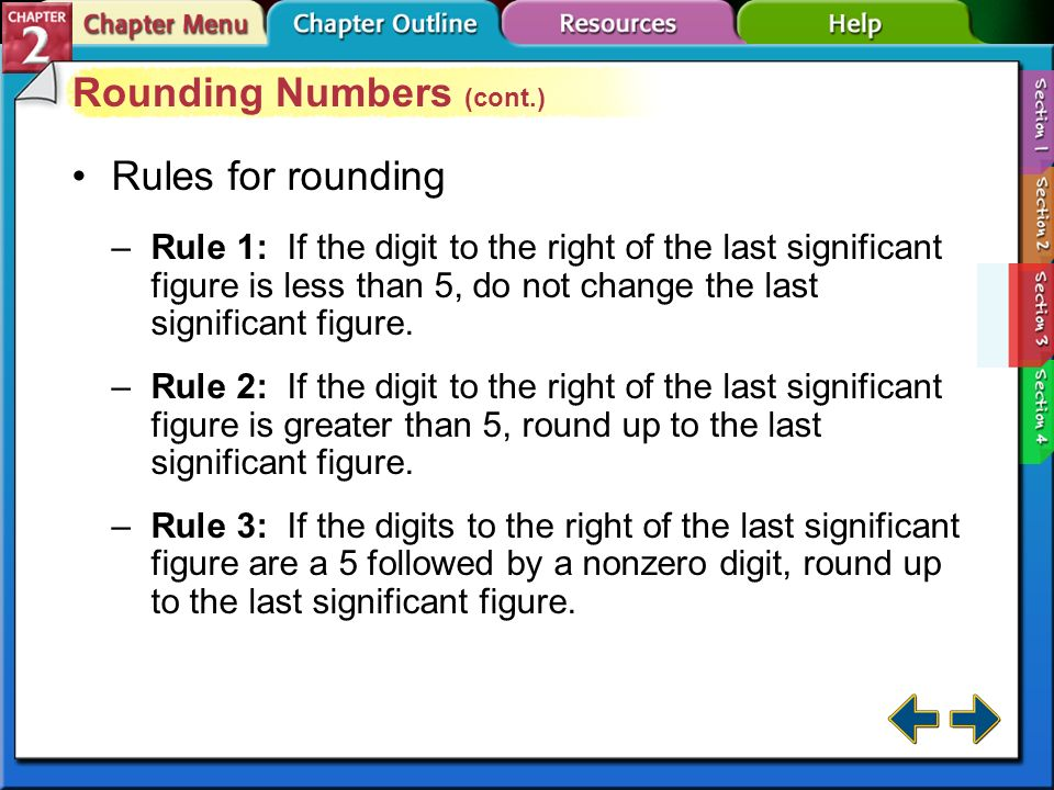 Rounding Numbers (cont.)