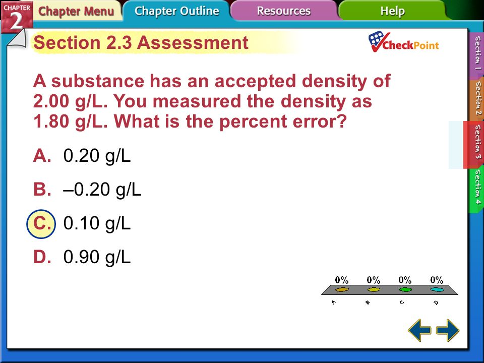 A B C D Section 2.3 Assessment