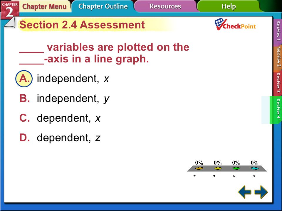 A B C D Section 2.4 Assessment