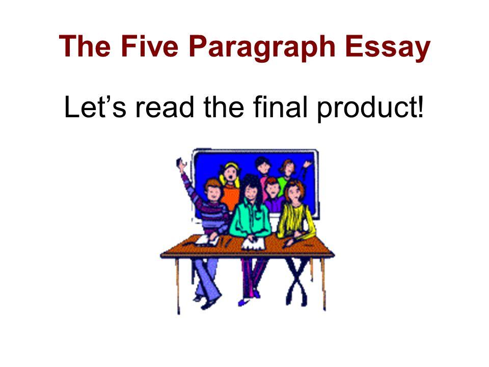 Five Paragraph Narrative Essay Powerpoint  Paragraph Narrative Essay Powerpoint