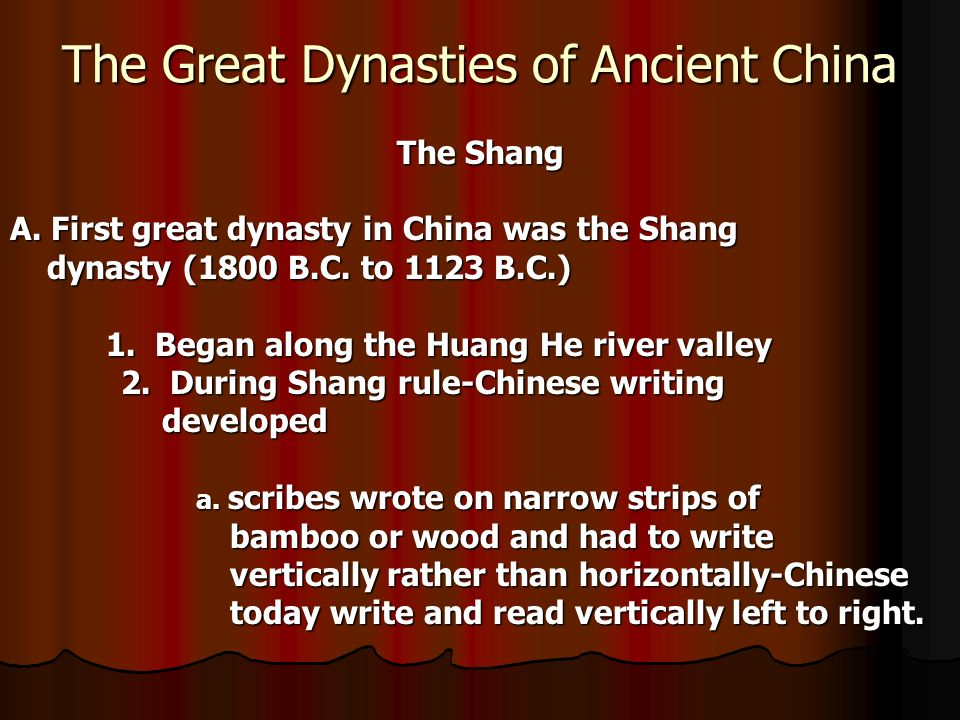 the dynasties of china that brought it to what it is today The dynasties of ancient china  today china is the largest country in the world  warrior shi huangdi brought an end to the.