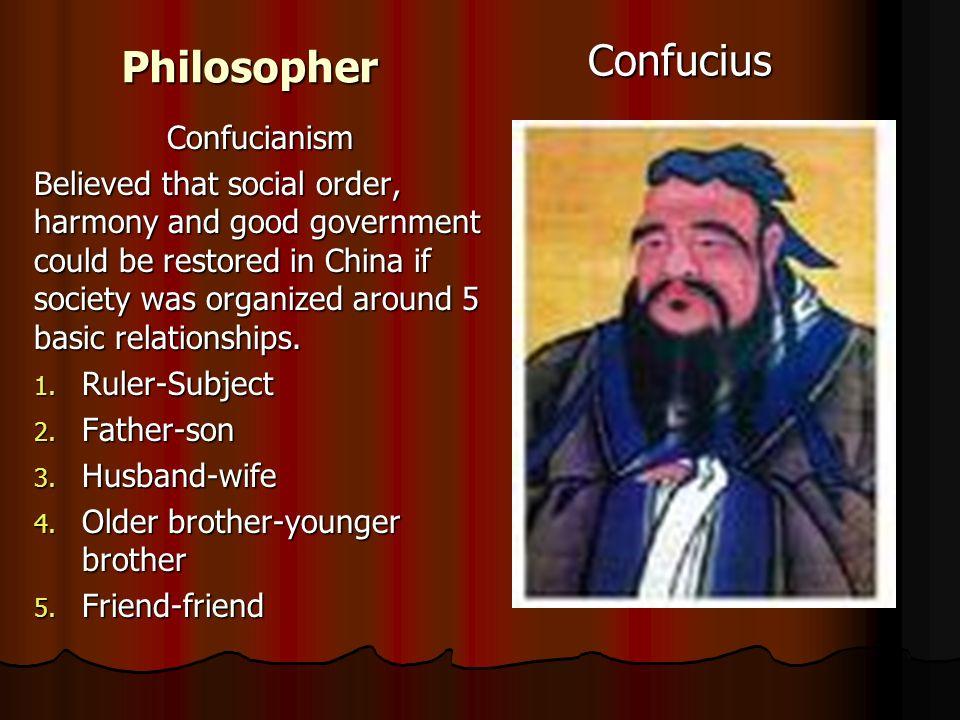 Philosopher Confucius Confucianism