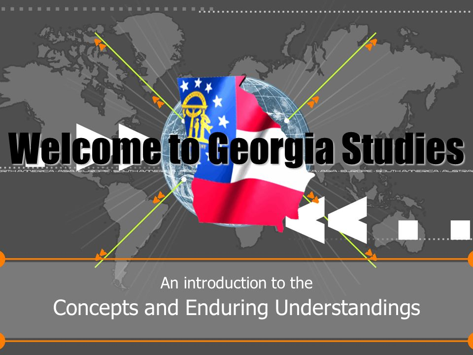 Welcome to Georgia Studies