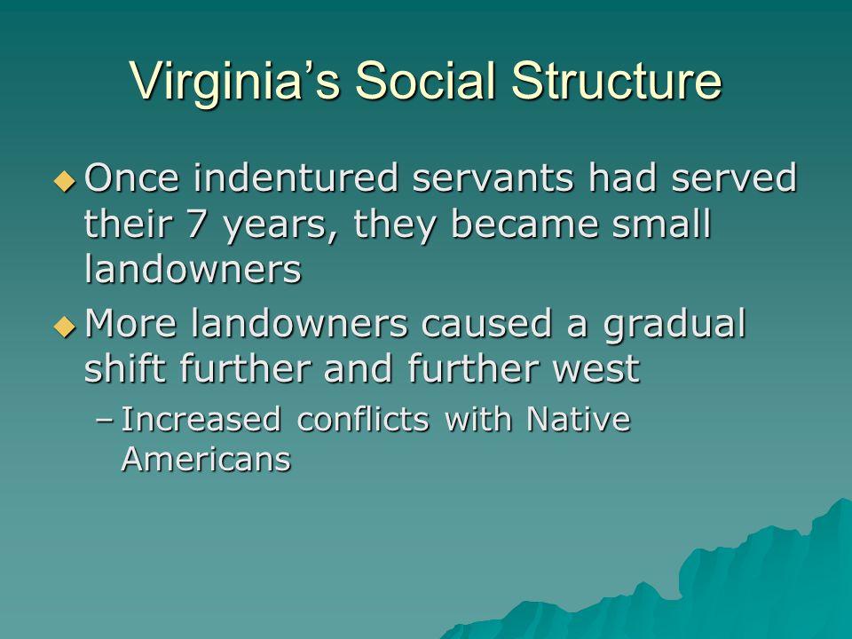 Virginia's Social Structure