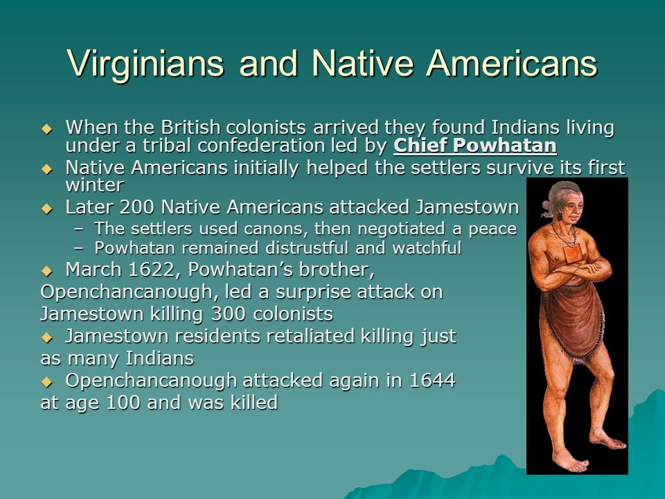 Virginians and Native Americans