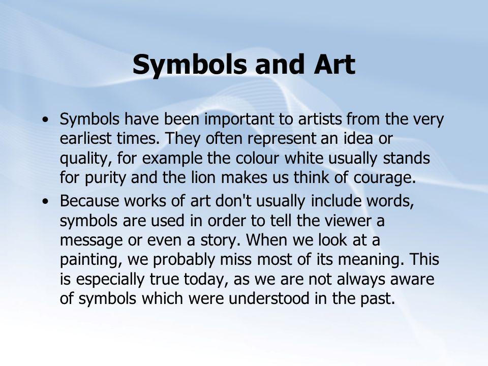Symbols and Art
