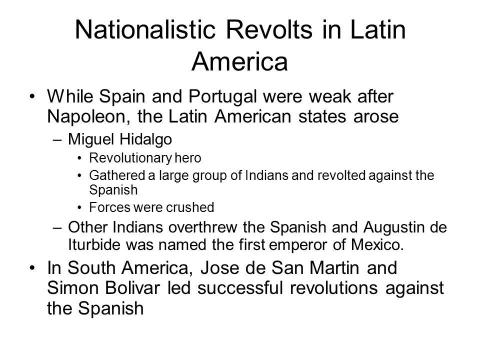 Nationalistic Revolts in Latin America