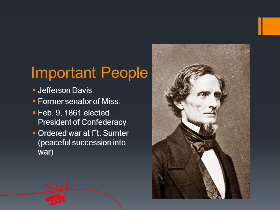 Important People of Civil War