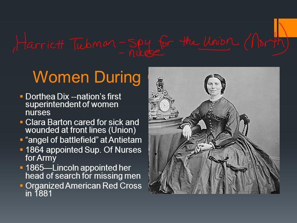 Women During Civil War Clara Barton