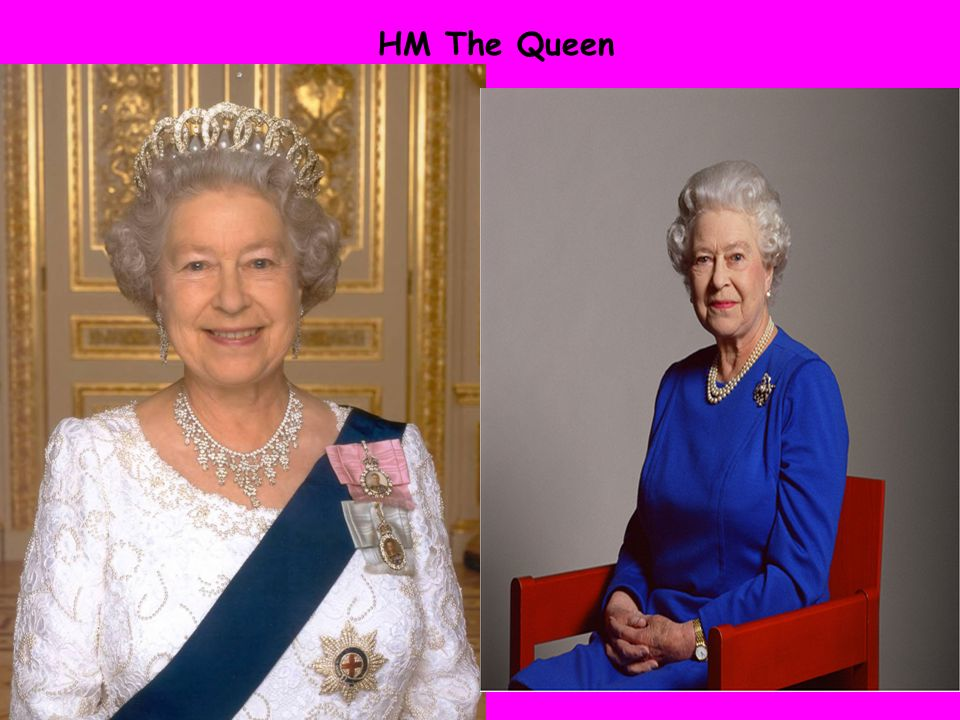 HM The Queen