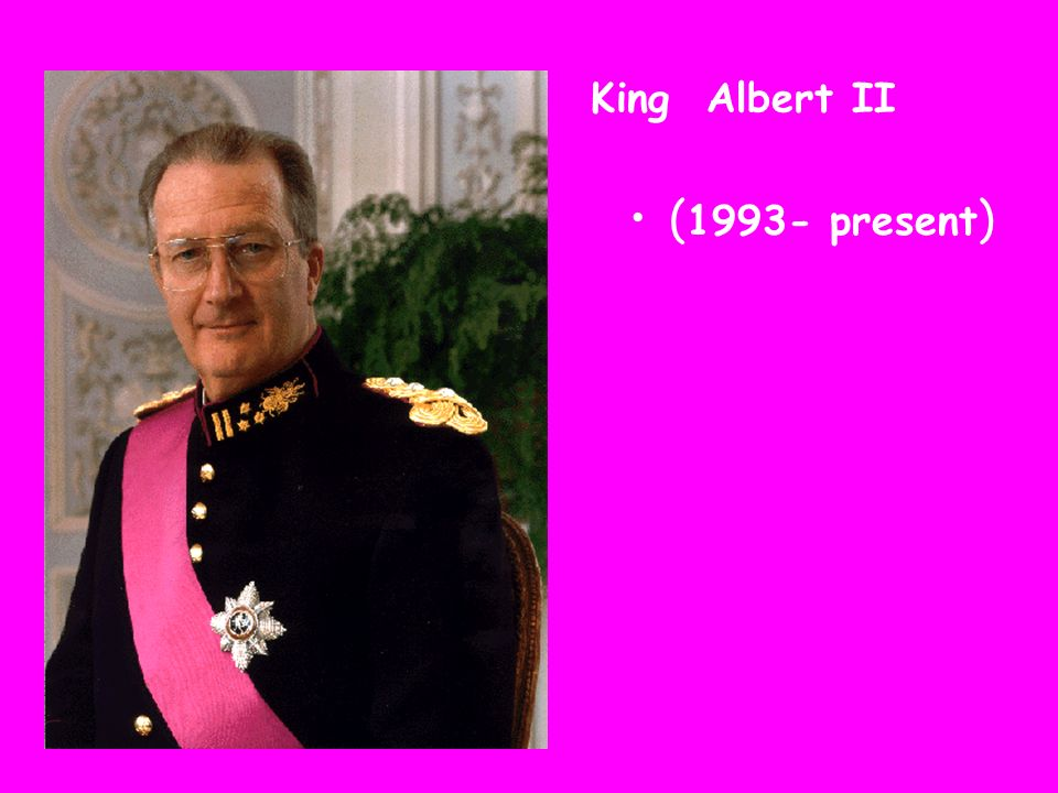 King Albert II (1993- present)