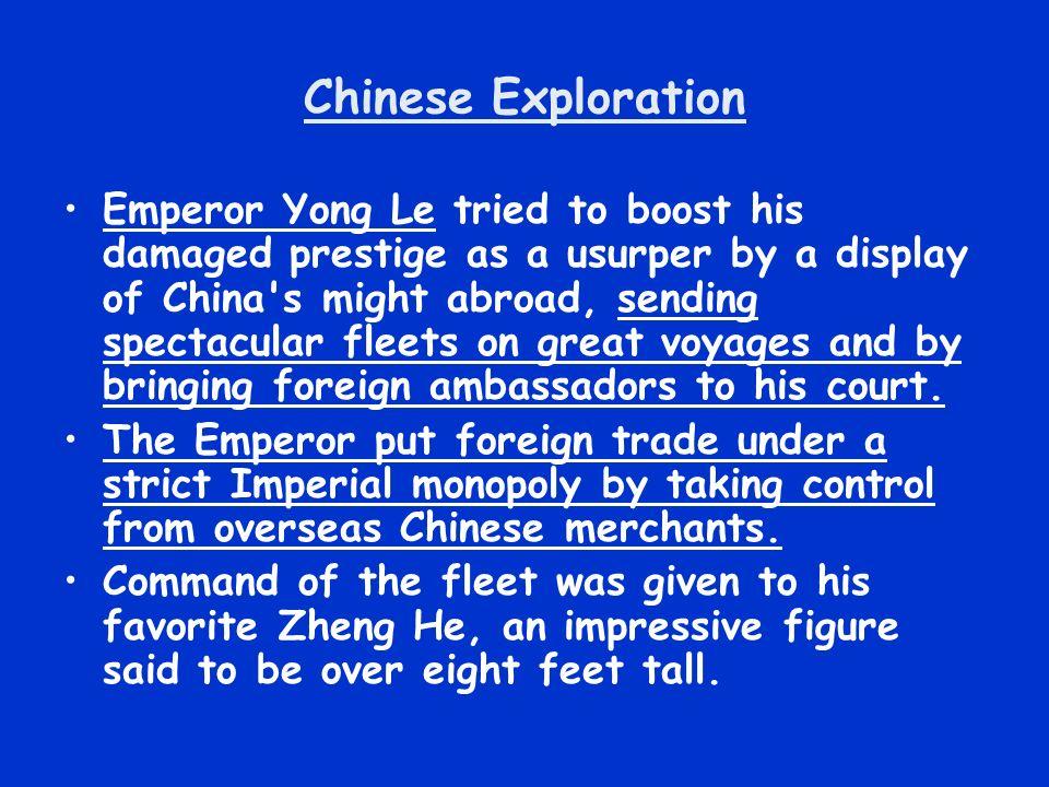Chinese Exploration