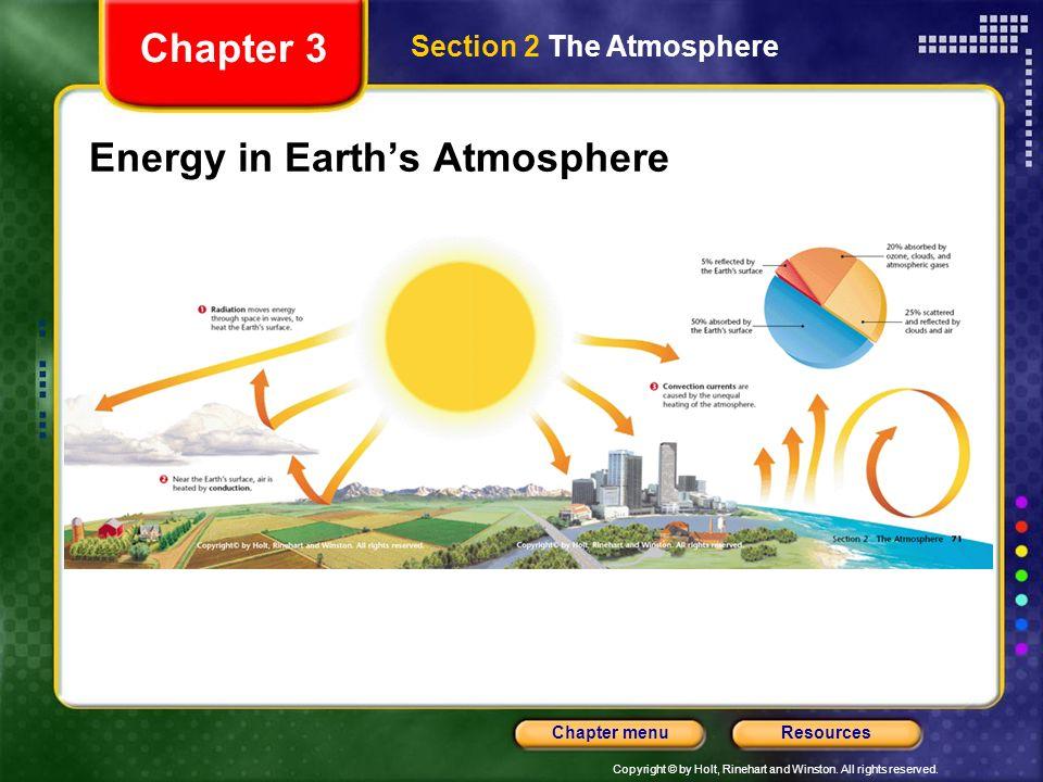 Energy in Earth's Atmosphere