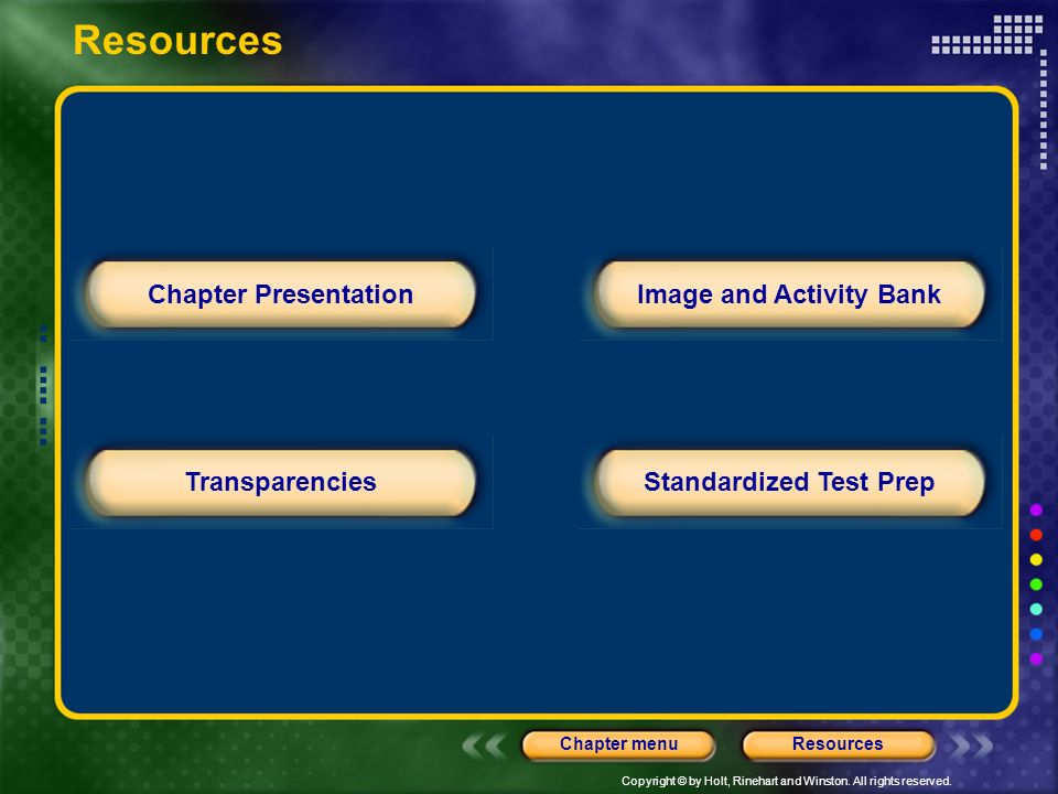 Image and Activity Bank Standardized Test Prep