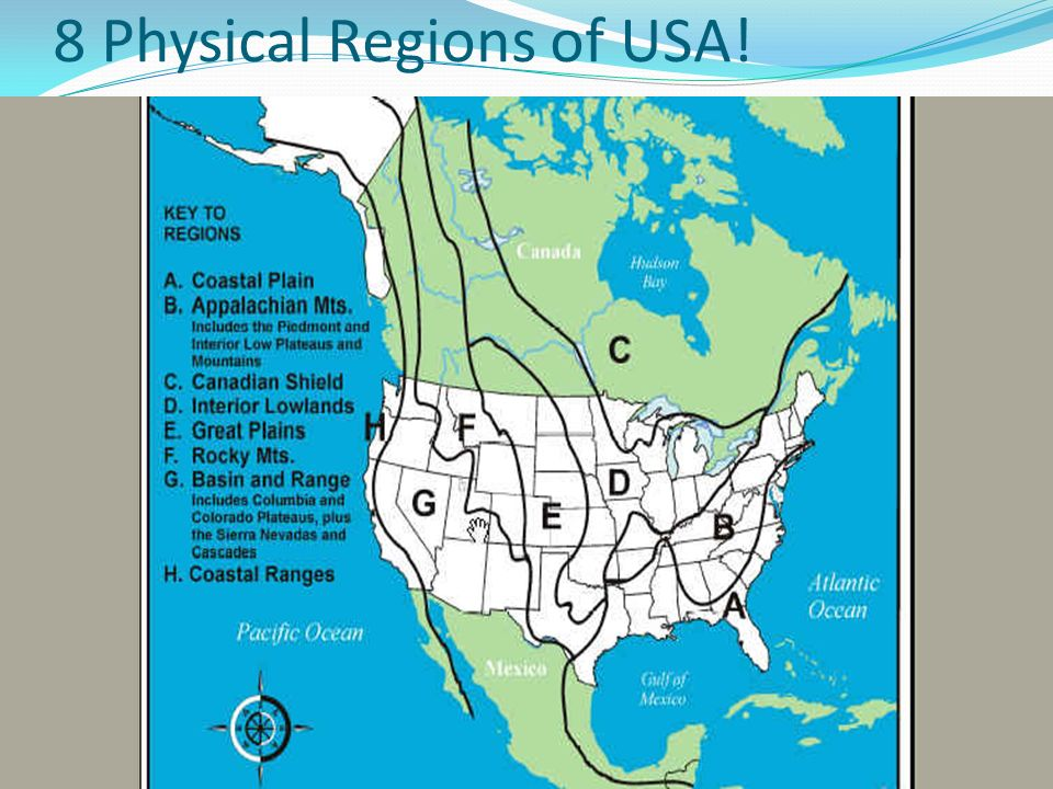United States Geography Ppt Video Online Download - Coastal plains on us map
