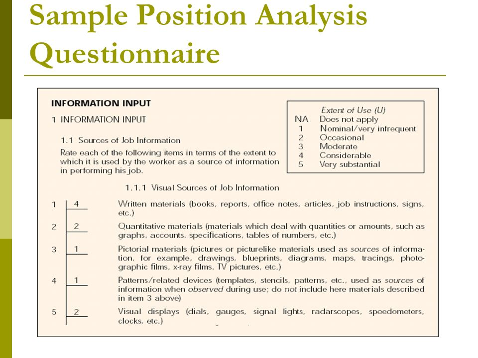 analysis of a questionnaire In quantitative analysis of survey results, for example, frequency distributions of responses to specific items on a questionnaire often structure the discussion and analysis of findings by contrast, qualitative data most often occur in more embedded and less easily reducible or distillable forms than quantitative data.