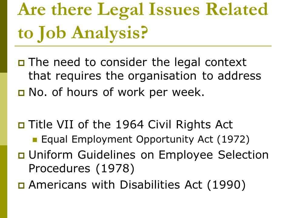 equal opportunities in employment historical analysis Equal employment opportunity commission, plaintiff legislative history of the equal employment opportunity to the contrary, the analysis pertaining.